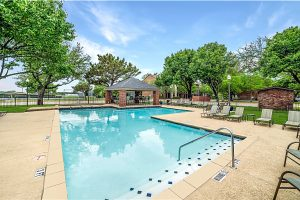 Apartment shared pool